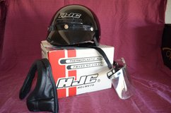 Motorcycle Helmet with Accessories in Yucca Valley, California