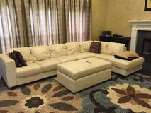 Leather Sectional in Naperville, Illinois