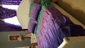 Girls Full Size Bedroom Set, bedding & curtains included in Baytown, Texas