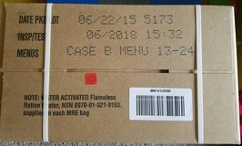 MRE (box of 12, new) in San Diego, California
