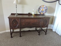Antique large buffet/side bar in Yucca Valley, California