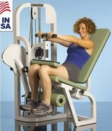 Gym leg curl weights machine in Lake Elsinore, California