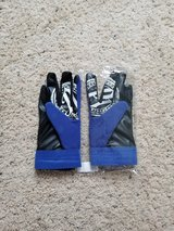 WWE A.J. Styles Blue Gloves - NEW in Camp Lejeune, North Carolina