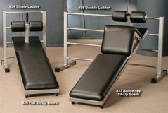 3 rung gym ladder abs bench great for weights core loss in Lake Elsinore, California