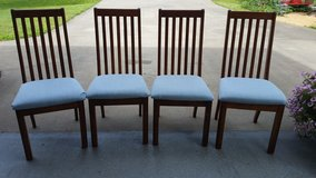 4 Solid Wood Chairs in Fort Campbell, Kentucky
