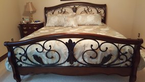 King Size Bed Frame in Cherry Point, North Carolina