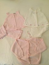 EUC SIZE 18-24 mos. Summer Linen Sets & Sweater in Westmont, Illinois