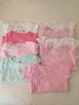 18-24 months LOT 9 Baby Girl Onesies in Oswego, Illinois