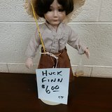 tom sawyer, huck finn dolls in Cherry Point, North Carolina