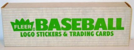 1988 and 1990 Fleer Baseball factory Sealed Complete Sets in Cherry Point, North Carolina