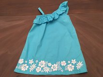 Tropical Blue Gymboree Dress Size 5t in Chicago, Illinois