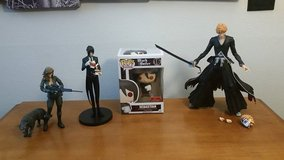 Anime figures in Bellaire, Texas