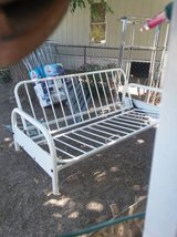 Beautiful All White Sturdy Futon in Las Cruces, New Mexico