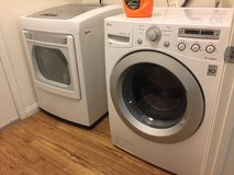 LG Washer and Dryer in Fort Irwin, California