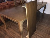 Dining Room Table with 2 Leaves and 8 Chairs in Naperville, Illinois