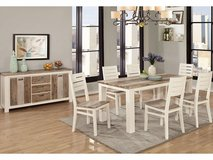 Dining Room Set with 4 chairs and Bench in Anchorage, Alaska