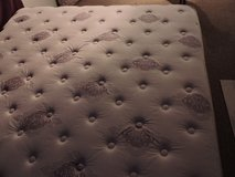 King Mattress and frame and box springs     Like New condition in Anchorage, Alaska