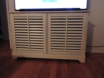 """TV Stand    Off White     Large enough for 55"""" Flatscreen in Anchorage, Alaska"""