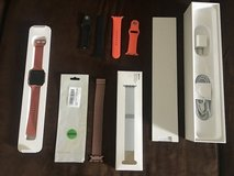 $500 value Apple Watch 2 new + 3 rubber bands and 1 metal band screen protector included in Okinawa, Japan