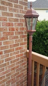Outdoor patio light free-standing in Naperville, Illinois