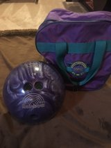 bowling ball with bag in Elgin, Illinois