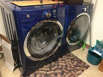 Blue Electrolux washer and dryer in Travis AFB, California