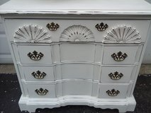 shabby chic carved chest in Westmont, Illinois