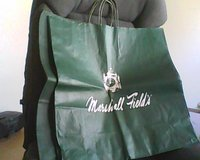 4 Marshall Field's bags in Great Lakes, Illinois