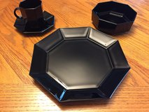 Arcoroc Octime Black Dishes in Chicago, Illinois