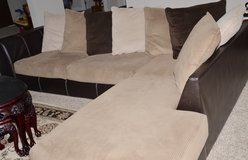 Sectional Couch w/chaise in Eglin AFB, Florida
