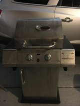 Char Broil Red stainless steel gas grill in Naperville, Illinois