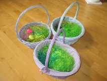 Girls' Easter Baskets - Blue, Purple - Comes with Easter Grass! in Plainfield, Illinois