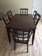 Dining room table and cabinet in Fort Leonard Wood, Missouri