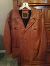 Leather Jacket Camel in Kingwood, Texas