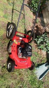 Push mower works great in Fort Riley, Kansas