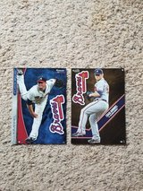 2 - Atlanta Braves FATHEADs - NEW in Camp Lejeune, North Carolina