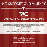 Military Real Estate Specialists in San Clemente, California
