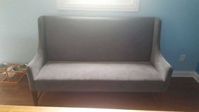 Grey Setee/Couch from World Market. in Batavia, Illinois