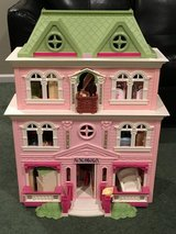 Fisher Price Loving Family Grand Mansion Dollhouse with accessories in Bolingbrook, Illinois