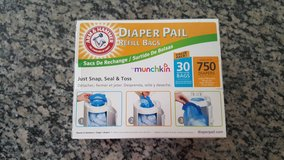 Arm and Hammer diaper pail refill bags by munchkin in New Lenox, Illinois