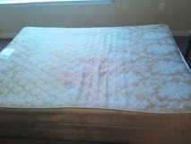 Queen sized Mattress and Box Spring in Beaufort, South Carolina