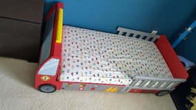 Firetruck toddler bed in New Lenox, Illinois