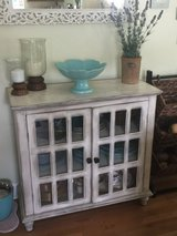 Cabinet with Glass Doors in Beaufort, South Carolina