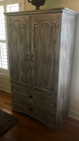 Distressed Armoire in Beaufort, South Carolina