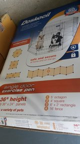 "Dog Playpen.Doskocil 36"" Single Door Exercise Pen in Glendale Heights, Illinois"
