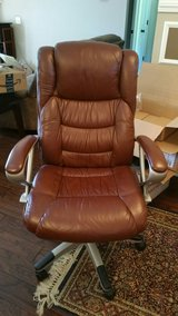 leather office chair in Fort Rucker, Alabama