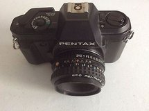 Pentax P3n 35mm SLR Camera with SMC Pentax-A 50mm lens in Fort Lewis, Washington