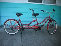 Tandem Bicycles in Fort Lewis, Washington
