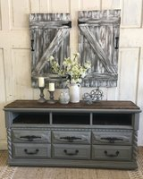 Rustic TV stand/Entryway piece in Kingwood, Texas
