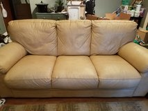 4 Piece Leather Couch Set in Naperville, Illinois